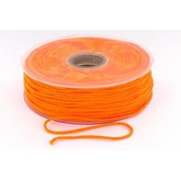 Cordon élastique super doux 2,5mm orange fluo
