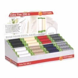 Display extra fin 200m/48 bobines en 8 coloris - 149