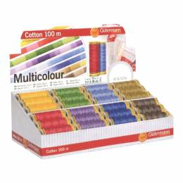 Display coton 100m. multicolore /48 bobines - 149
