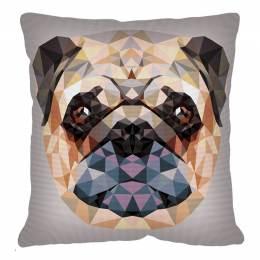 Coussin 50/50 pénélope Geometrique chien - 150