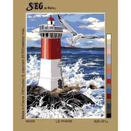 Canevas 40/50 le phare - 150