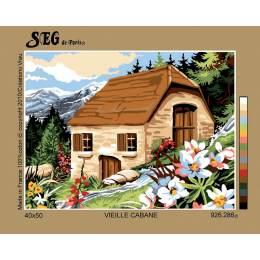 Vieille cabane 40/50cm - 150