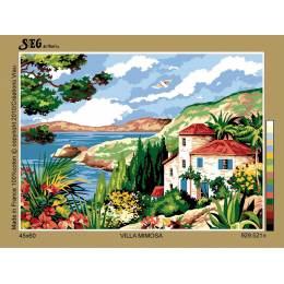 Canevas 45/60 antique villa mimosa - 150