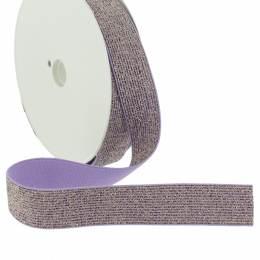 Élastique lurex violet 20mm - 158