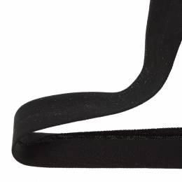 Biais jersey coton 40/20 noir - 158