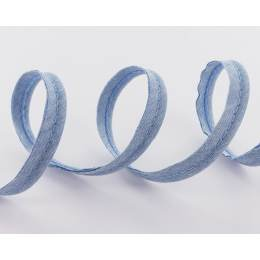 Passepoil 10 mm jeans chambray - 158