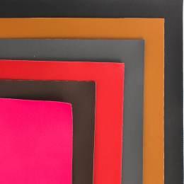Coupon 50/30 simili cuir colori assorti - 158