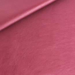 Coupon 50/30 simili cuir métallisé lie de vin - 158