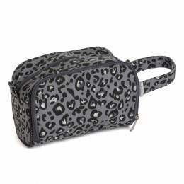 Sac à crochet + étui motif léopard - 165