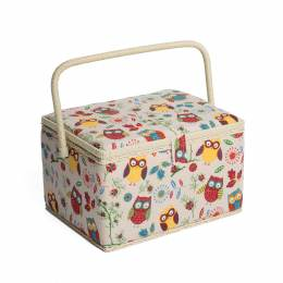 Grande boîte à couture hibou - 165