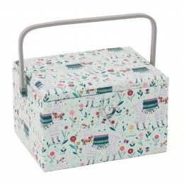 Grande boîte à couture lama - 165