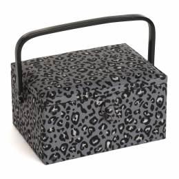 Boite à couture motif léopard - 165