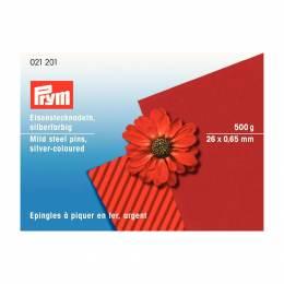 Épingle/piquer fer argenté 0,70x26mm par 500 gr - 17