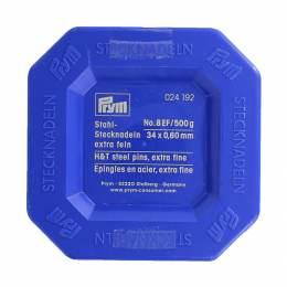Épingle/piquer n°8 acier argenté 0,60 x 34 mm - 17