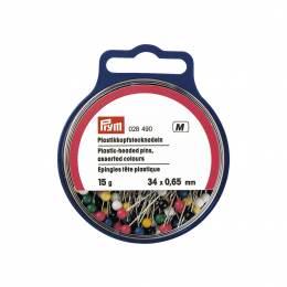 Épingle/piquer tête plastique 0,65 x 34 mm - 17