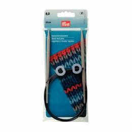 Aiguille tricot aluminium rapide flex 60cm n°6 - 17