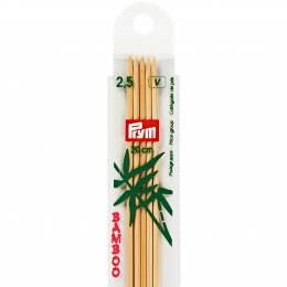 Aiguille tricot 2 pt bambou 20cm n°2,5 - 17