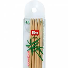 Aiguille tricot 2 pt bambou 20cm n°4,5 - 17