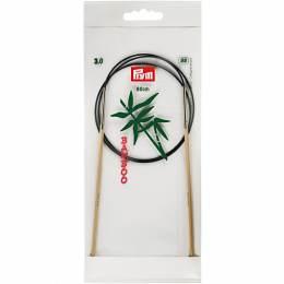Aiguille circulaire bambou 80cm n°3 - 17