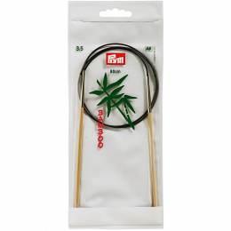 Aiguille circulaire bambou 80cm n°3,5 - 17