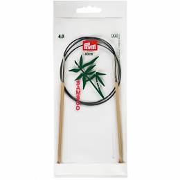 Aiguille circulaire bambou 80cm n°4 - 17