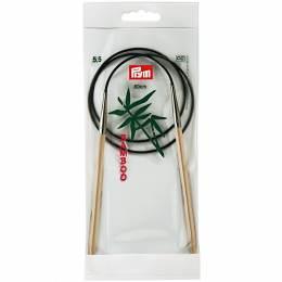 Aiguille circulaire bambou 80cm n°5,5 - 17