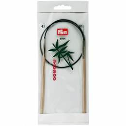 Aiguille circulaire bambou 60cm n°4,5 - 17