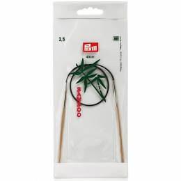 Aiguille circulaire bambou 40cm n°2,5 - 17
