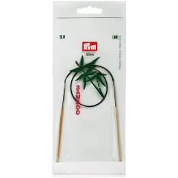 Aiguille circulaire bambou 40cm n°3 - 17
