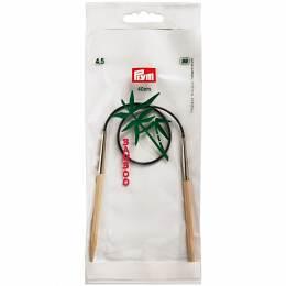 Aiguille circulaire bambou 40cm n°4,5 - 17