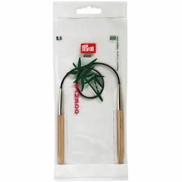 Aiguille circulaire bambou 40cm n°5,5 - 17