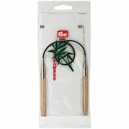 Aiguille circulaire bambou 40cm n°7 - 17