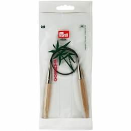 Aiguille circulaire bambou 40cm n°9 - 17