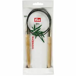 Aiguille circulaire bambou 80cm n°10 - 17