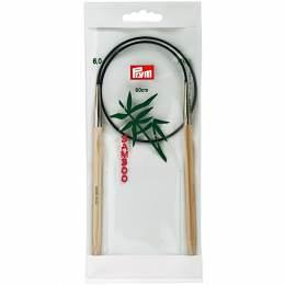 Aiguille circulaire bambou 60cm n°6 - 17