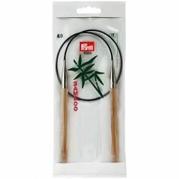 Aiguille circulaire bambou 60cm n°8 - 17