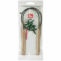 Aiguille circulaire bambou 60cm n°10 - 17