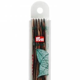 Aiguille tricot 2 pt bois natural 20cm n°3 - 17