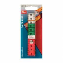 Mètre ruban 150cm color plus avec pressioncm/inch - 17