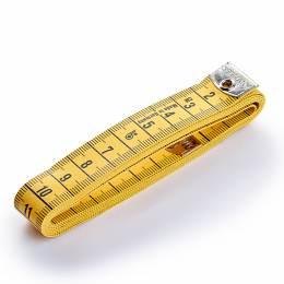 Mètre ruban 150cm jaune - 17
