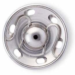 Boutons pression à coudre 7 mm laiton argente - 17