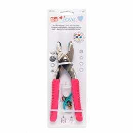 Prym love pince vario fuchsia + outils color snaps - 17