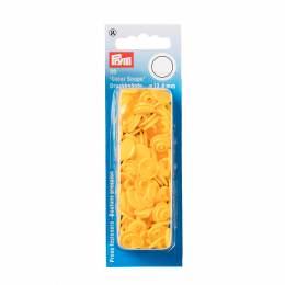 Boutons pression color snaps jaune 12,4 mm - 17
