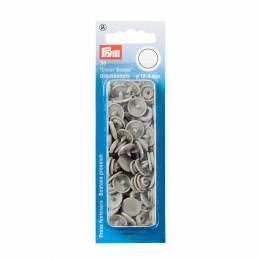 Boutons pression color snaps gris 12,4 mm - 17