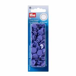Boutons pression color snaps lilas 12,4 mm - 17