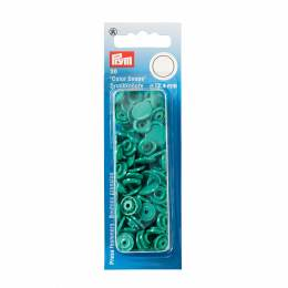 Boutons pression color snaps vert 12,4 mm - 17