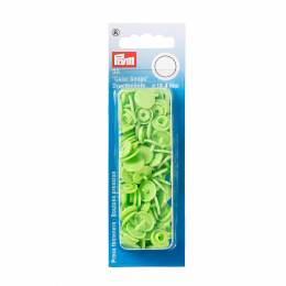 Boutons pression color snaps vert pomme 12,4 mm - 17