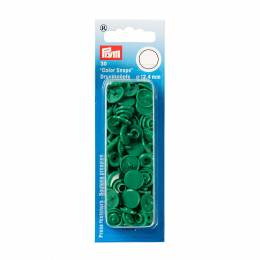 Boutons pression color snaps vert herbe 12,4 mm - 17