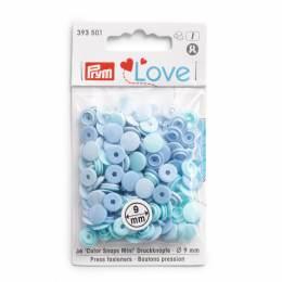 Prym love boutons pression color snaps mini bleu c - 17