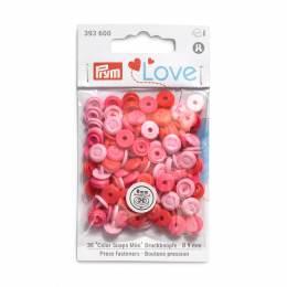 Prym love boutons pression color snaps mini rosé - 17